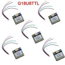5 teile/los G18U8TTL GPS/GLONASS/BDS Navigation Modul Hohe Empfindlichkeit Positionierung Chip Mikrocomputer für Fahrzeug, PDA, ect. FZ3724