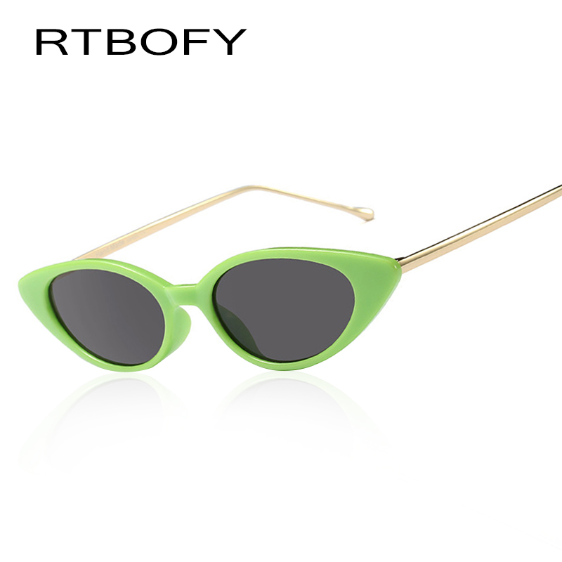 RTBOFY Brand Design Cat Eye Sunglasses for Women and Men Fashion Shades Eyewear feminino UV400 FDY95115-4