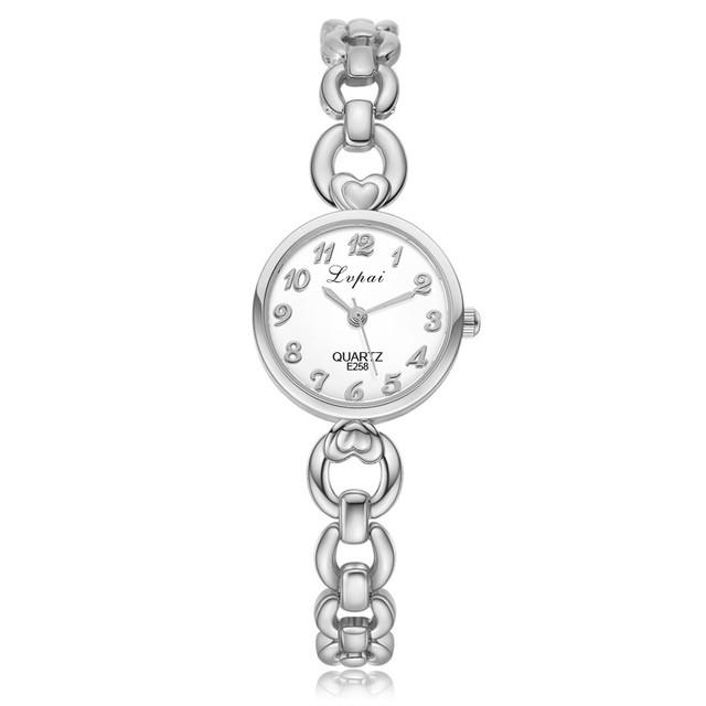Women's Watch lady Stainless Steel Sport Waches Women Waterproof Luxury Watch Women Silver Quartz Watches montre femme 2018