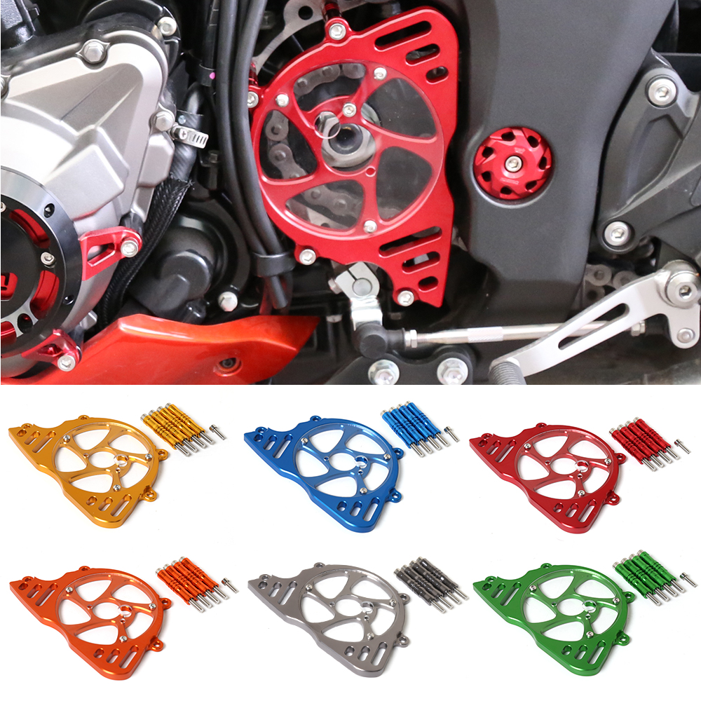 Motorcycle Accessories Front Sprocket Chain Guard Cover Left Side Engine Protective Cover For KAWASAKI Z1000 Z 1000 2010-2016 bjmoto for yamaha mt07 2013 2014 2015 2016 fz07 2015 2016 red cnc front sprocket guard chain cover left side engine