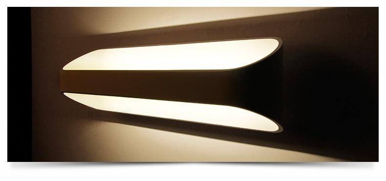 LED divar çıraqları 3W 5W 10W AC85-265V Müasir sadə yataq - Daxili işıqlandırma - Fotoqrafiya 2