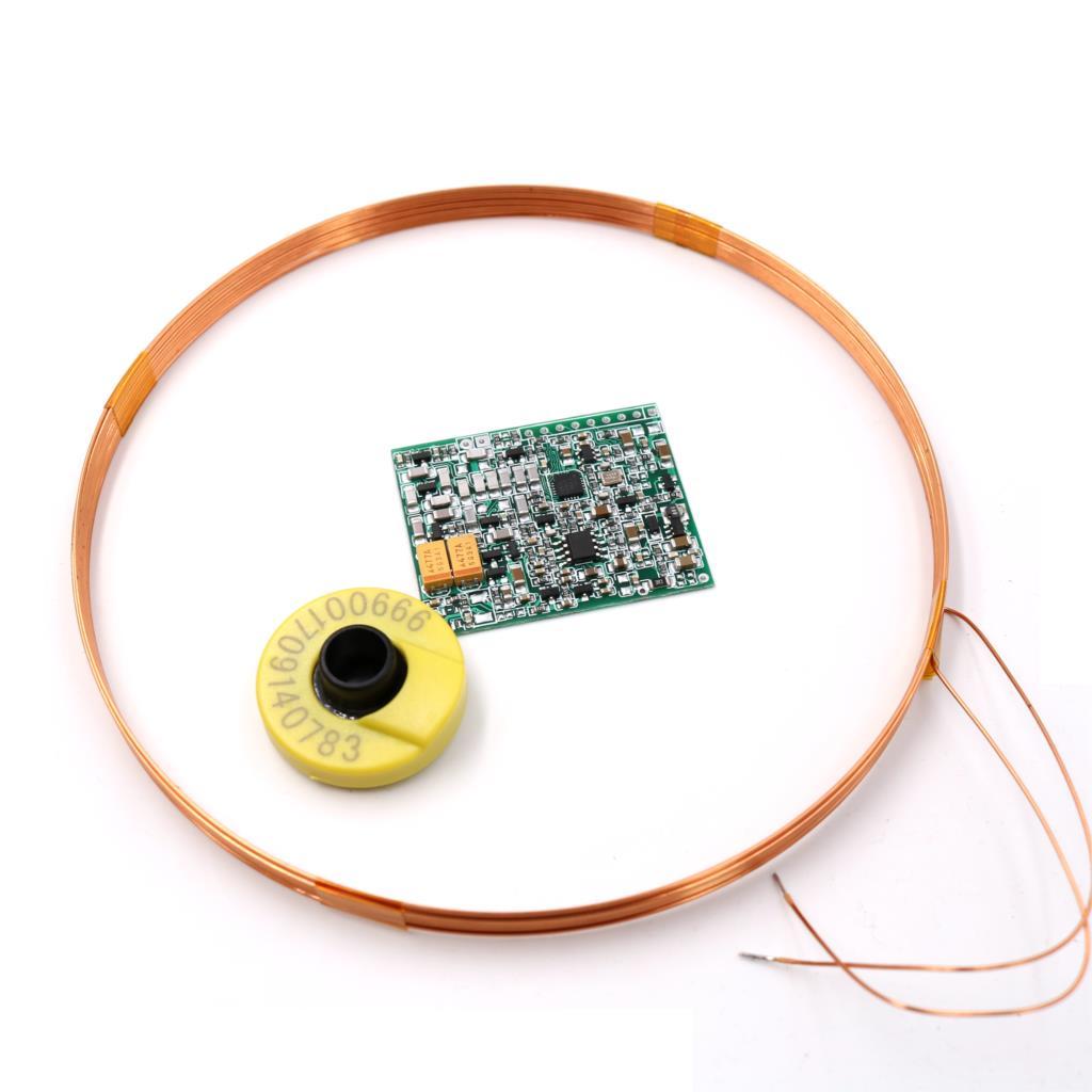 134.2 kHz AGV FDXB Longue Portée ISO11784/85 FDX-B D'ID D'EM D'étiquette D'animal Étiquette D'oreille Lecteur Module UART