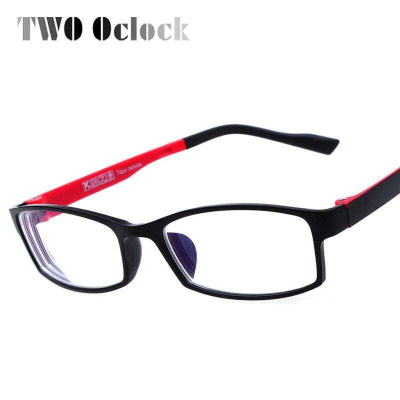 Estudiante óptico gafas marcos mujer hombres pequeño plástico marco ...