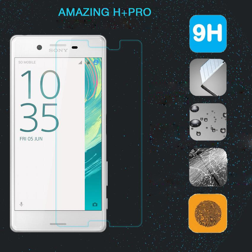 9H Premium Tempered Glass Screen Film For Sony Xperia X Performance F8132 Guard Film For Sony X Dual F5122 F5121 Case Glass Film