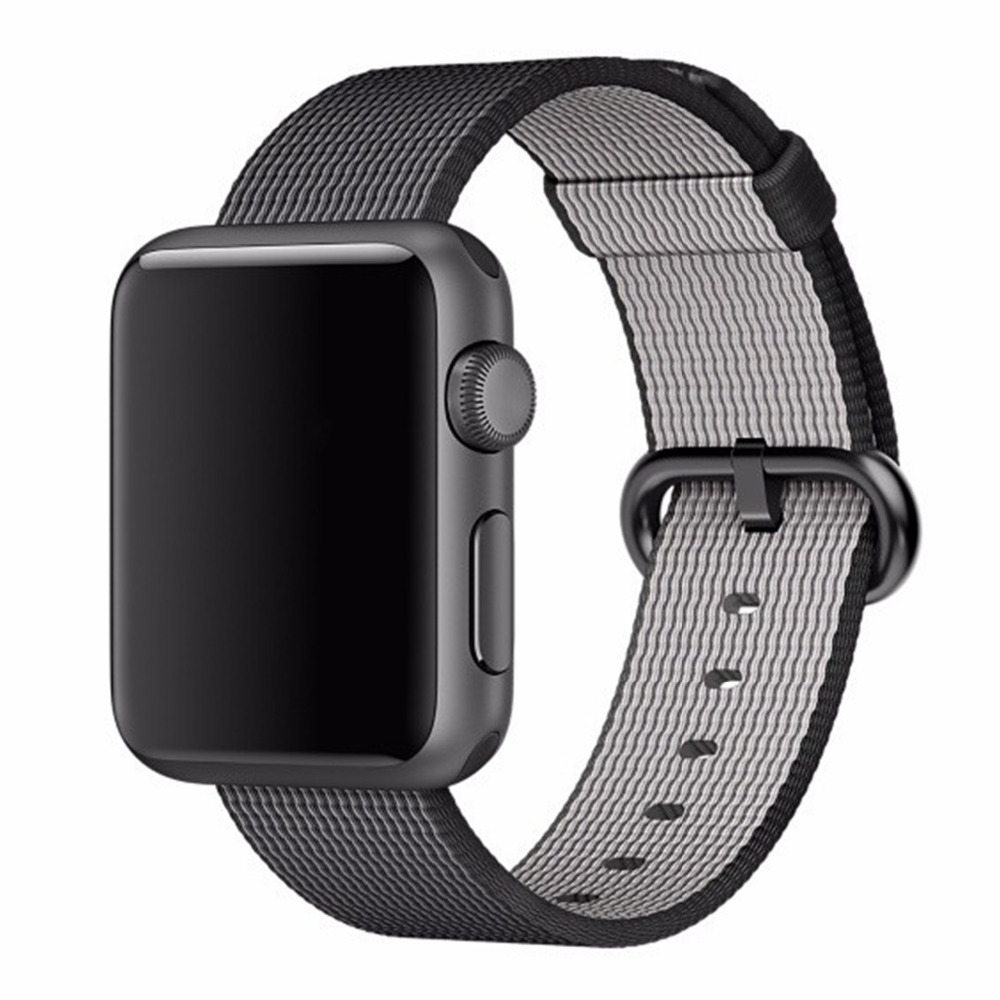 CRESTE Nylon watch strap For apple watch band 42 mm/38 bracelet wrist band for iwatch series 1/2/3 replacement watch strap