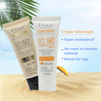 Facial Body Sunscreen Whitening Sun Cream Sunblock Skin Protective Cream Anti-Aging Oil-control Moisturizing SPF 90 Face 2