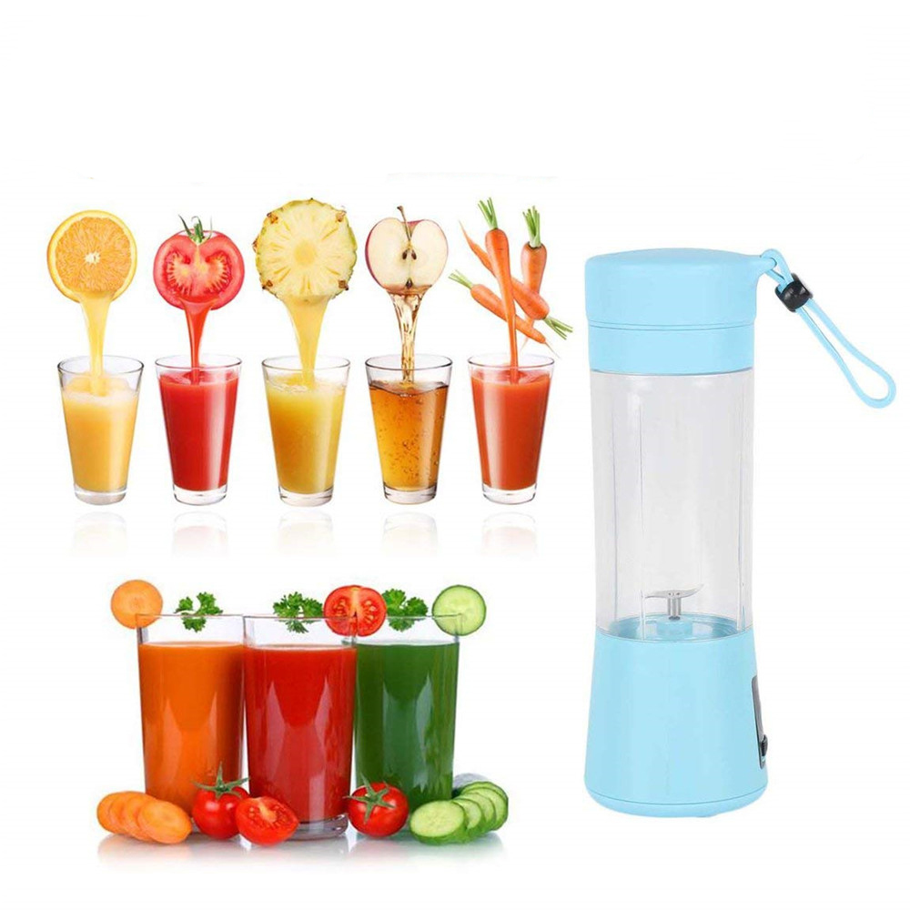 Multifunctional Mixing Blender Electric USB Portable Juicer Cup Blender Mini Household Fruit Mixer Personal Smoothie Blender