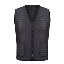 Out of doors Using Snowboarding Fishing Water proof USB Charging Electrical Heated Vest Heat Electrical Heated Clothes