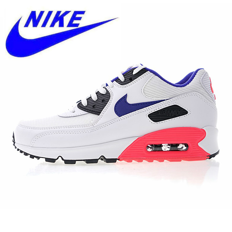 half off 2a75e f95df Detail Feedback Questions about AIR MAX 90 ESSENTIAL Men s and Women s  Running Shoes,Wear resistant Shock absorbing Breathable Non slip,White    Pink 537384 ...