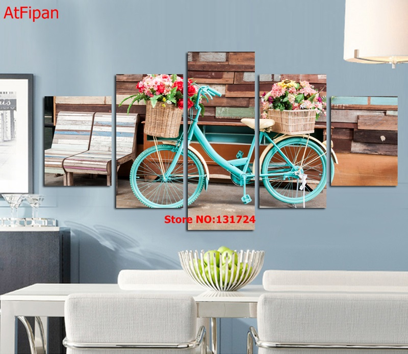 popular bicycle wall art decor-buy cheap bicycle wall art decor