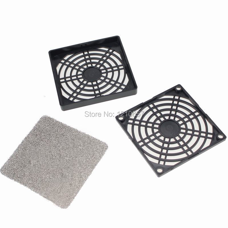 100Pieces LOT Computer case fan dust cover 6cm three in dustproof sponge filter mesh 6cm computer fan colander-in Fans & Cooling from Computer & Office    1