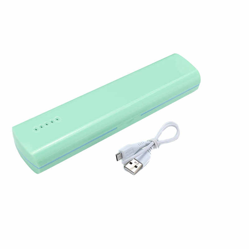 Hot sale Portable Toothbrush Sterilizer Tool Box Automatic Disinfection Travel Camping Tooth Brush Holder UV Sterilization Case