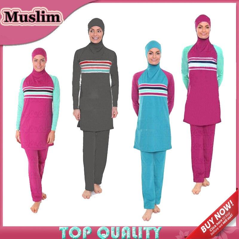 Célèbre Women swimwear for women Muslim Swimwear Arab Beach Swimsuits  QR11