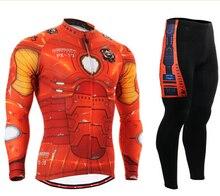 Ironman Camisetas de ciclismo para hombre ropa ciclismo bicicleta desgaste  manga larga transpirable Bicicletas ropa ciclismo 1d316e7cd