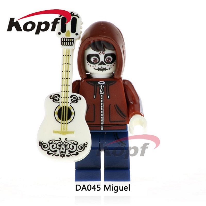 DA045 Single Sale Building Blocks The Day Of The Dead Coco Movie Hector Miguel Best Collcetion Bricks For Children Gift Toys identification of best substrate for the production of phytase enzyme