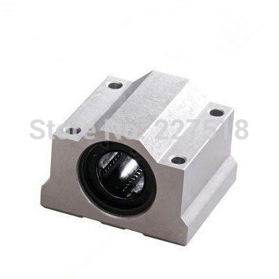 1pc SC60UU 60mm linear guide Linear axis ball bearing block with LM60UU bush, pillow block linear unit for CNC part 1pc scs50uu 50mm linear guide linear axis ball bearing block with lm50uu bush pillow block linear unit for cnc part