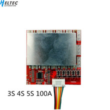 3S 4S 5S 100A 80 Lithium Battery Protection Board BMS Polymer Iron Lithium Belt Balanced Power Tool Inverter Solar Energy cheap Battery Accessories Heltec Automation