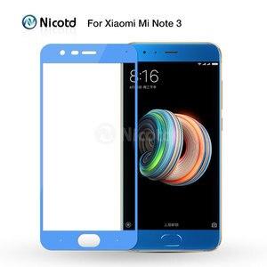 Image 2 - 2 шт./лот для Xiaomi Mi Note 3 Закаленное стекло Mi Note3 защита для экрана 2.5D изогнутая полноэкранная пленка Xiomi для Xiaomi Note 3