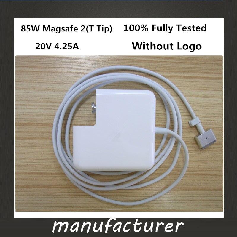 """Prix pour Nouvelle Bon magsafe 2 85 W 20 V 4.25A Power Adapter Chargeur pour apple MacBook Pro 15 """"17"""" Écran Retina A1425 A1398 A1424"""
