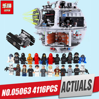 2017 Lepin 05063 4016pcs New Genuine Star War Force Waken UCS Death Star Educational Building Blocks