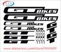 2018 Высокое качество наклейки для велосипеда DIY рамка стикер s стикер для велосипеда s высечки наклейка/наклейка лист (Велоспорт, mtb, bmx, дорога,...