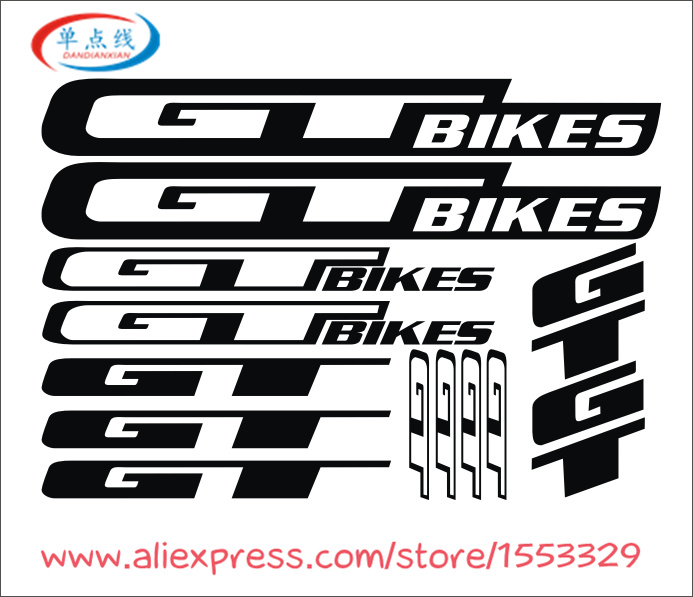 2018 High Quality Bike Decals DIY Frame Stickers Bicycle Stickers Die-cut decal / sticker sheet (cycling, mtb, bmx, road, bike)