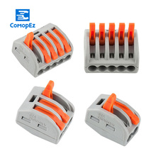 Wire Cable Connector Terminals Mini Fast Connectors 2pin 3pin 4pin 5pin 50pcs/lot