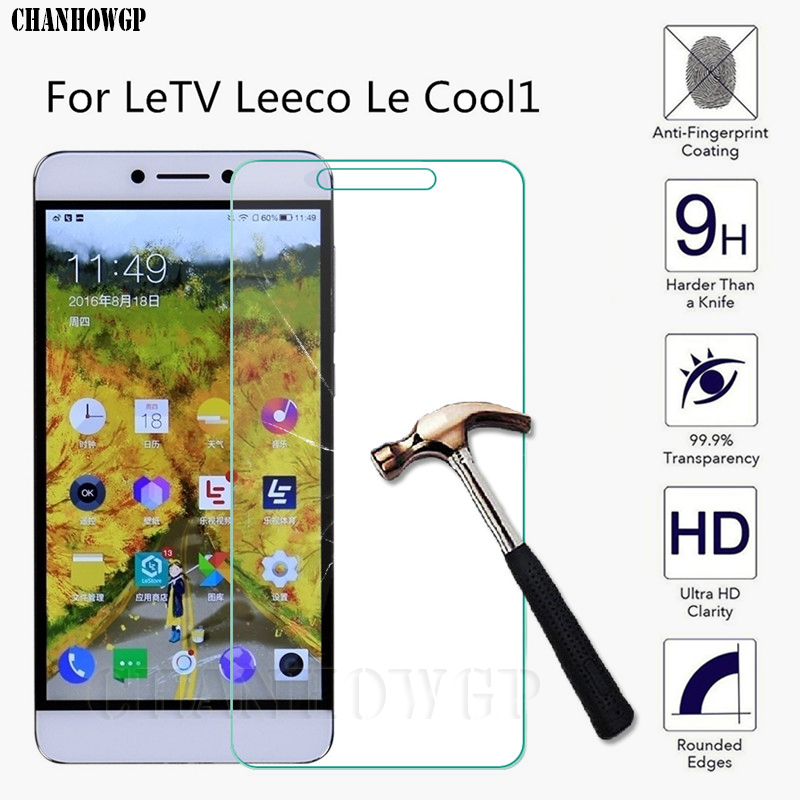 9H Tempered Glass For Letv LeEco Le Cool 1 Cool1S Dual C106 Screen Protector For LeEco Le Coolpad 1 Protective Glas Full Cover(China)