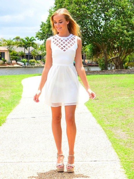 graduation white dresses page 13 - lace