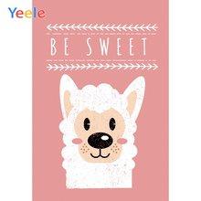 Yeele baby shower Альпака Милая спальня живопись фоны для фотосъемки