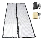 Magic Curtain Door Mesh Magnetic Hands Free Fly Mosquito Bug Insect Screen Hot W15 Drop Ship