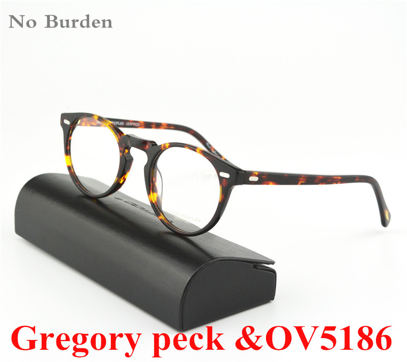 62b2424df1a Vintage optical glasses frame No Burden ov5186 Gregory peck for women and  men eyewear frames FREE SHIPPING