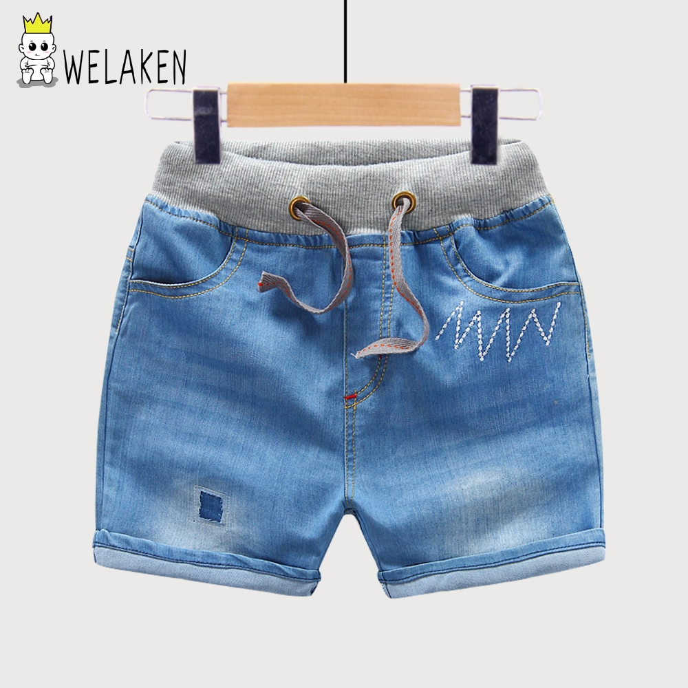 New 2017 Baby Boy Girl Denim Shorts Fashion Boy Shorts Soft Summer Style Good Quality Kids ...