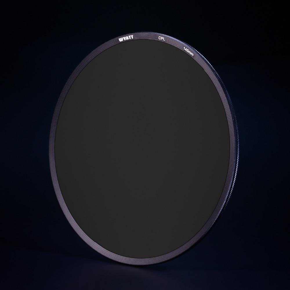WYATT 145mm Slim Circular Polarizer C-POL CPL Filter FOR Nikon 14-24mm/ Canon TS-E 17mm /WonderPana 145 kenko 77mm realpro cpl cir pl slim ring polarizer filter lens protector free shipping for canon nikon 24 105 24 70 70 200 17 55