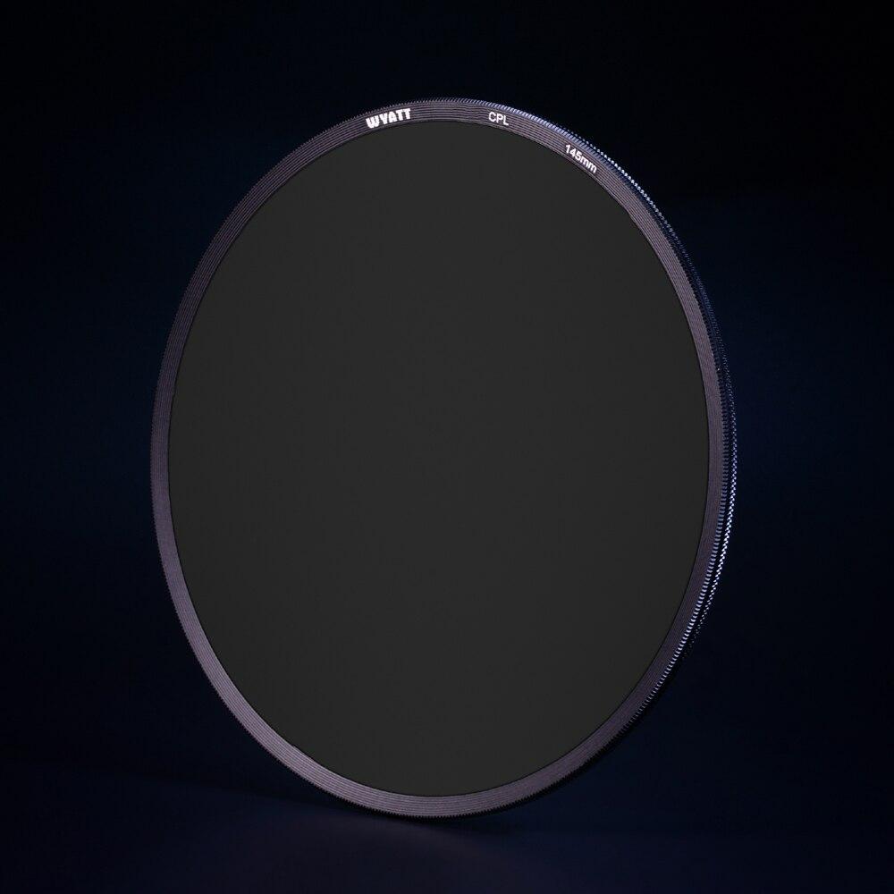 WYATT 145mm Slim Multi-Coated Circular Polarizer MC C-POL CPL Filter FOR Nikon 14-24mm/ Canon TS-E 17mm /WonderPana 145 светофильтр praktica c pol mc 55mm