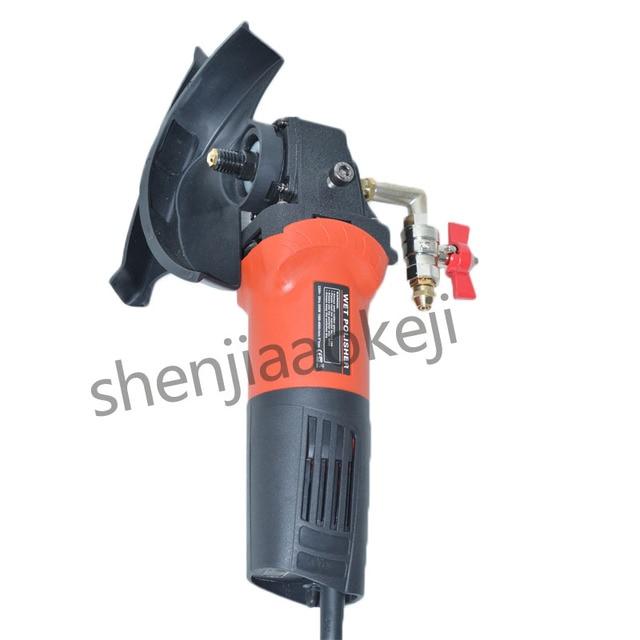 Water injection-type polishing machine hand grinder Electric stone wet polisher Cement marble polishing machine 800W