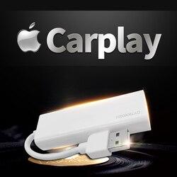 Radia samochodowe apple carplay i Android Auto link klucz usb z sterowanie za pomocą ekranu dotykowego dla systemu nawigacji DVD Android|Radia samochodowe|   -