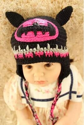 Free Shipping Crochet Knitted Hat Super Hero Batman Superman Spider-man Hat  Newborn Infant Toddler Children s Hat Winter Beanie b70f8c9eab8