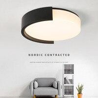 Креатсветодио дный ивный светодиодный потолочный светильник для светодио дный спальни минималистичный светодиодный потолочная SMD лампа с