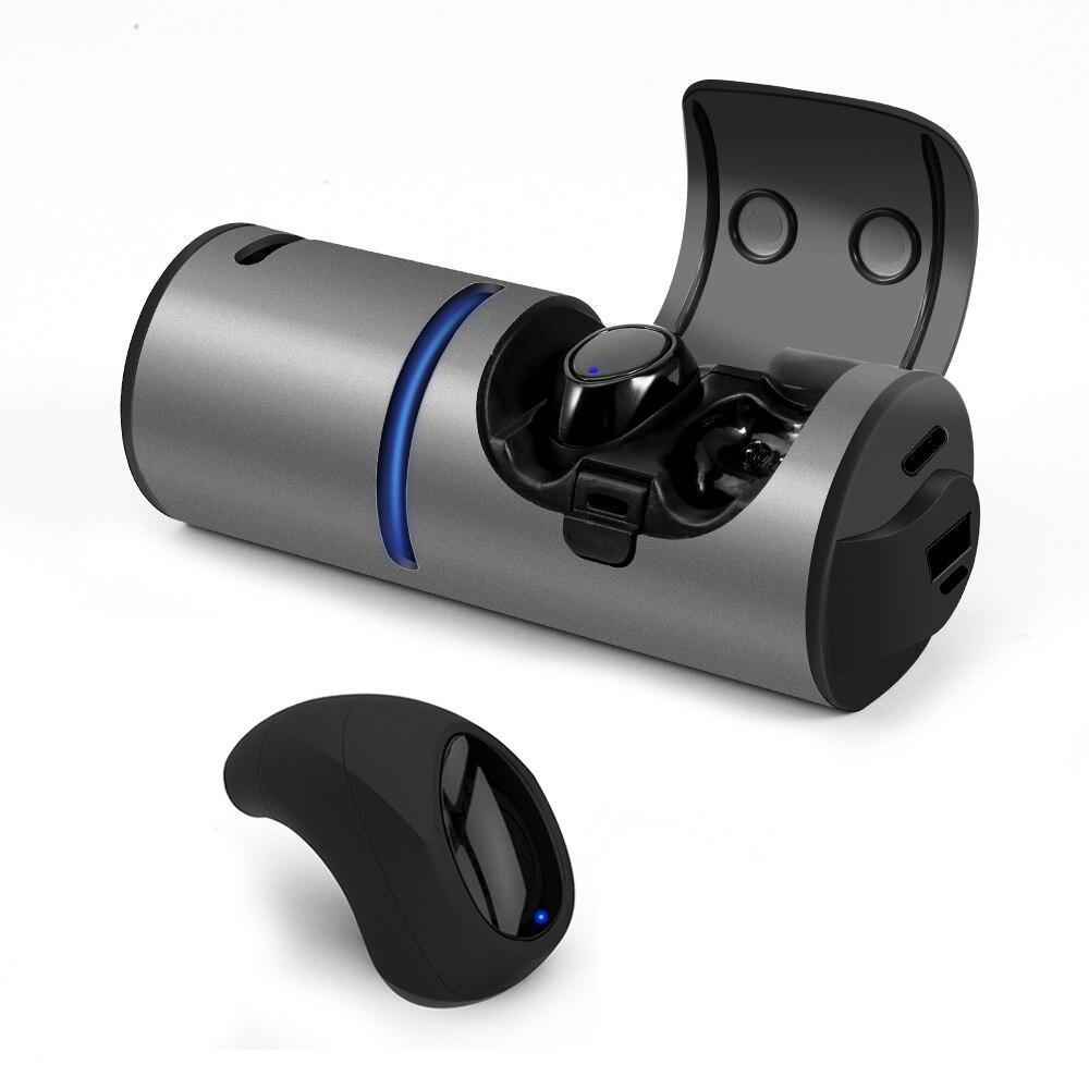 Mini Wireless Earphone Bluetooth 5.0 Earphones In-Ear Headset Bluetooth Speaker With 1200mAh Battery Power BankMini Wireless Earphone Bluetooth 5.0 Earphones In-Ear Headset Bluetooth Speaker With 1200mAh Battery Power Bank