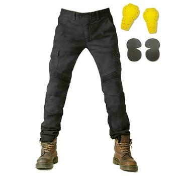 велосипед грязи передач | Мотоциклетные брюки мужские мото джинсы Защитное снаряжение для езды на мотоцикле мотоботы штаны для мотокросса