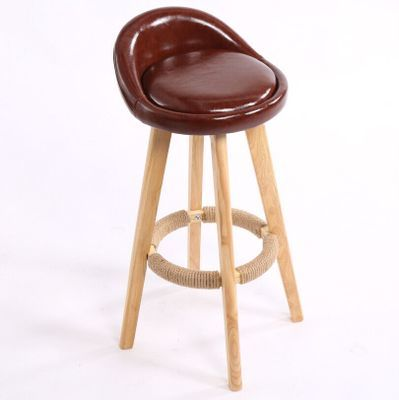 brown color bar chair free shipping club home tea milk table stool retail wholesale chair stool design customization
