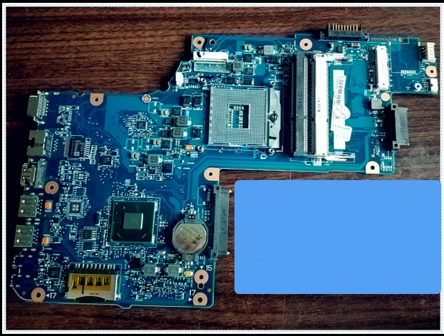 H000038370 C850 L850 HM76   connect with printer motherboard full test lap   connect board c850 l850 integrated motherboard for laptop c850 l850 h000052740 full test