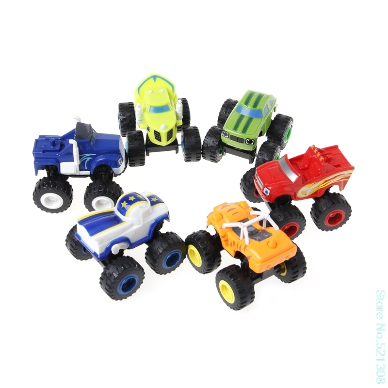 2018  Style Blaze Machines Vehicle Toy Racer Cars Truck Transformation Toys Gifts For Kids Drop Ship