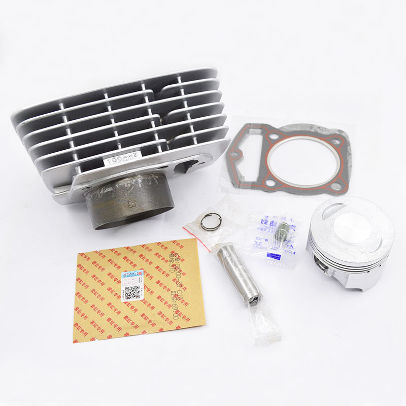 High Quality Motorcycle Cylinder Kit 69mm Bore 198cm3 For Zongshen CB200 WY198 CB 200 WY 198 200cc Off Road Dirt Bike high quality motorcycle cylinder kit for