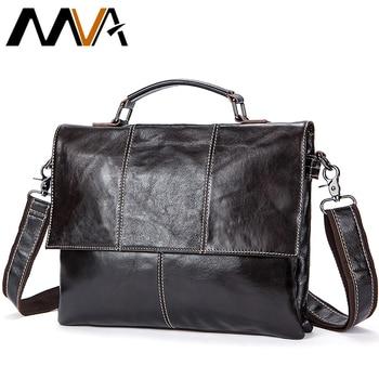 6018b0bef8ec 2019 мужской ретро портфель деловая сумка на плечо из натуральной кожи сумки  кожаные сумки для ноутбука