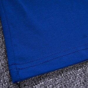 Image 4 - Детская одежда, спортивный костюм, летний комплект для мальчиков из двух предметов, детская одежда, костюм с вышивкой, одежда для детей 4, 6, 8, 10, 12, 14, 16 лет