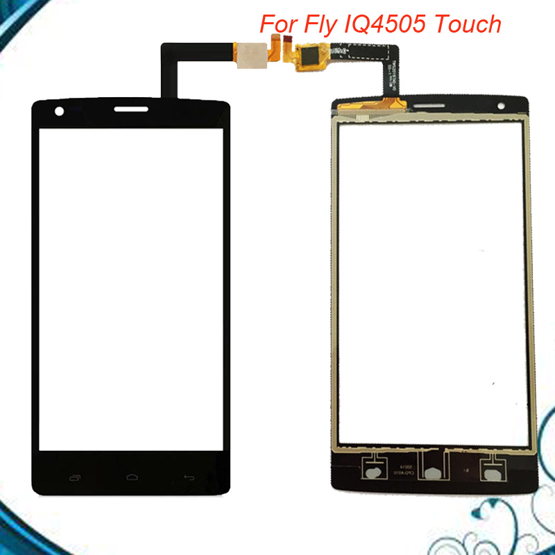 For Fly IQ 4505 IQ4505 quad era life 7 Smartphone Spare Touch Screen Digitizer Touchscreen Sensor free shipping