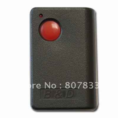 303mhz  remote control duplicator for B&D TRG102 remote, top quality with low price free shipping tilt a matic remote duplicator top quality with low price factory supply directly