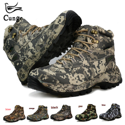 Me Hiking Boots Waterproof Hunting Shoes Tactical Camping Winter Climbing Boot Genuine Nylon Mountain Boots Non-slip Men Boots